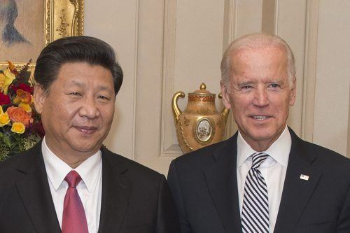 Biden and XI at White House in 2012